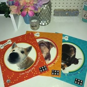 THE DOG  Love Dog Pocket Folders - Set of 3